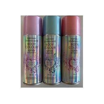 Spray laca iridiscente colores