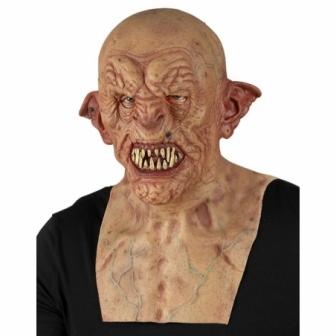 Máscara Zombie cabeza completa y pecho