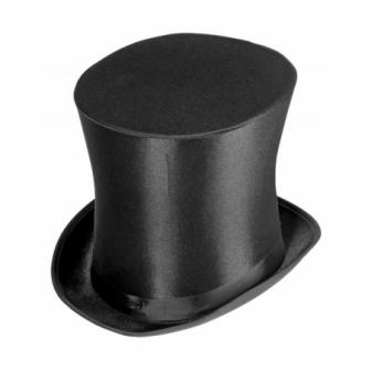 Sombrero de copa acampanado adulto