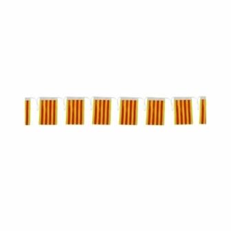 Bandera C.Cataluña plástico 50M. 20x30cm