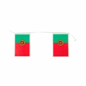 Bandera Portugal plástico 50M. 20x30cm