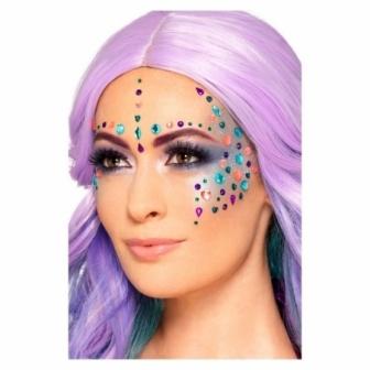 Set 100 joyas adhesivas multicolor