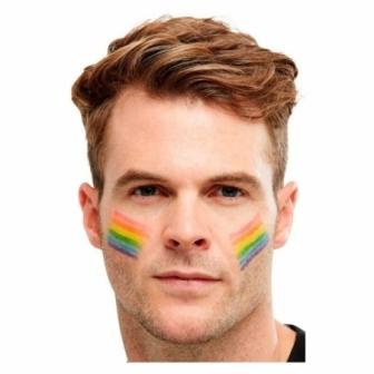 Stick maquillaje multicolor