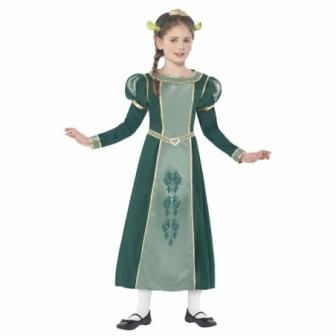 Disfraz Princesa Fiona Shrek para niña