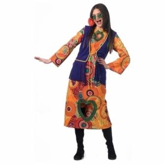 Disfraz Hippie Alma para mujer