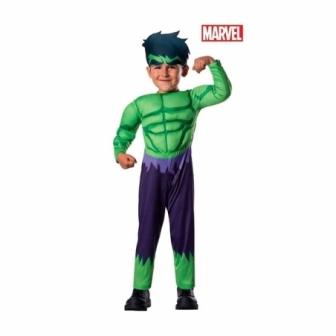 Disfraz Hulk para bebes