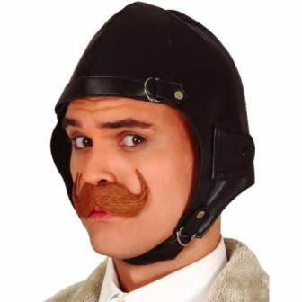 Casquete piloto simil piel