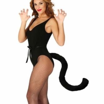 Cola negra Gato 50 cms.