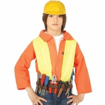 Cinturón Herramientas con casco infantil