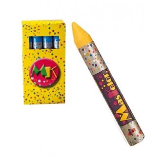 Barra Maquillaje Amarillo  Caja 12 Unida