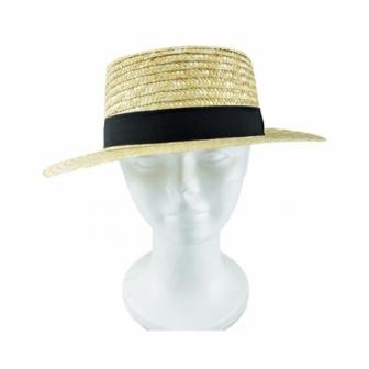 Sombrero Chevalier Paja Calada lujo