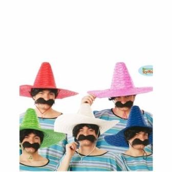 Sombrero Mejicano 50 cm  colores