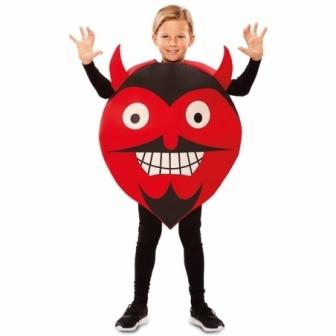 Disfraz Emoticono diablo infantil