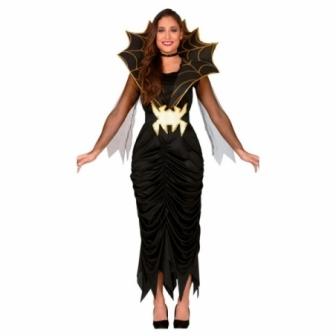 Disfraz Bruja mistica araña para mujer