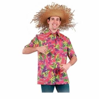 Camisa Flores Hawaiana adulto