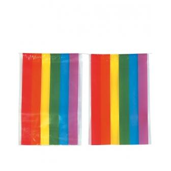 Bandera Plástico Comunidad Gay 50m.