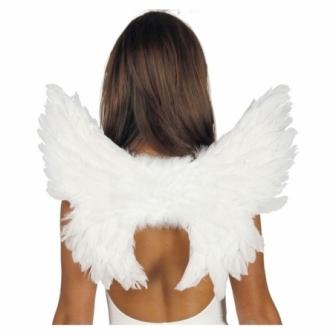 Alas plumas blancas 50x45cms.