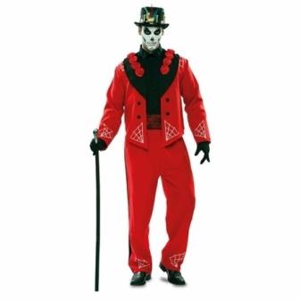 Disfraz Catrín rojo para hombre