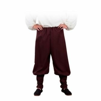 Pantalón medieval ancho adulto