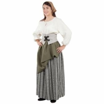 Disfraz Labradora medieval mujer