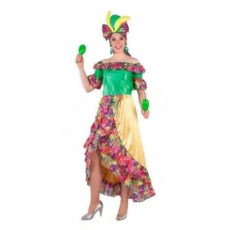 Disfraz Caribeña para mujer