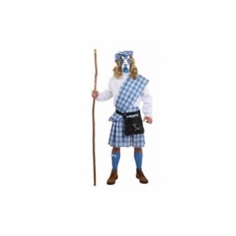 Disfraz Escocés Guerrero Adulto