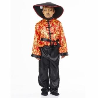 Disfraz Chino rojo infantil