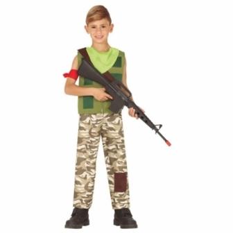 Disfraz Mercenario Gamer infantil