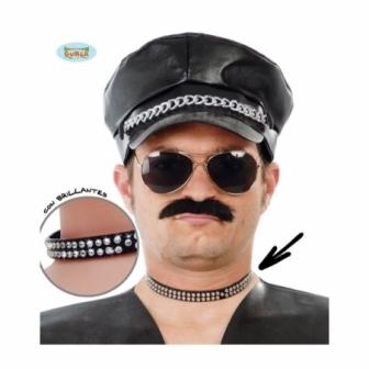 Collar De Brillantes Punki