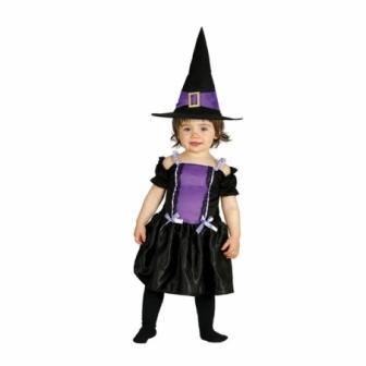 Disfraz Bruja Violeta Bebé