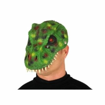 Máscara Dinosaurio verde Goma EVA
