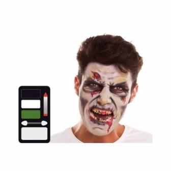 Set maquillaje Zombie 24x20 cm