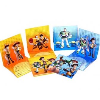 Invitaciones CumpleaÑos Toy Story 3d