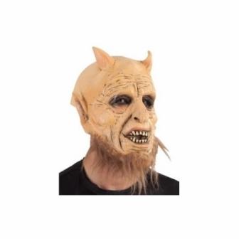 Máscara Belcebú Con Cuernos