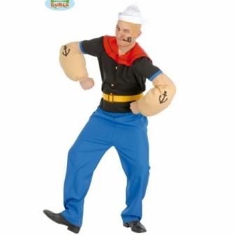 Disfraz Popeye El Marino Adulto T.XL