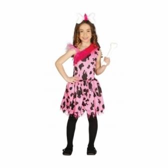 Disfraz Cavernícola Pink niña