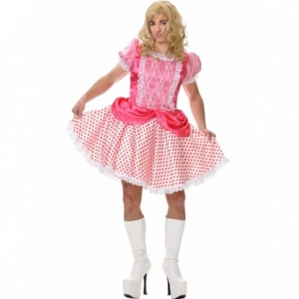 Disfraz MuÑequita Dolly Adulto