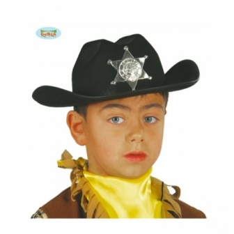 Sombrero vaquero Infantil fieltro