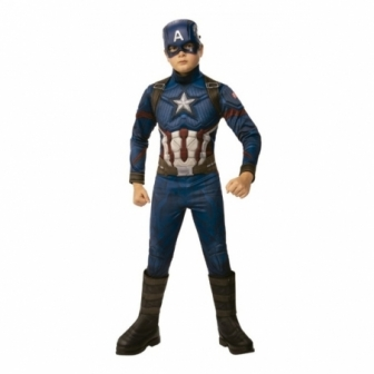 Disfraz Capitán America Endgame Prem INF