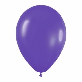 Bolsa 100  Globos Solido Violeta