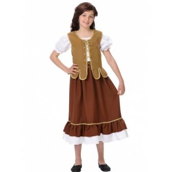 Disfraz Tabernera para niña
