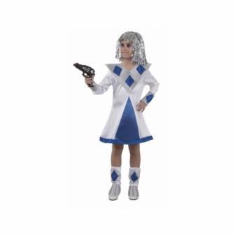 Disfraz Galáctica para niña