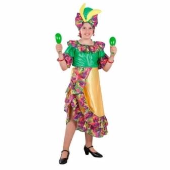 Disfraz Caribeña para niña