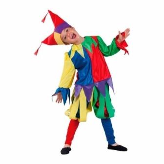 Disfraz Bufón medieval para niño