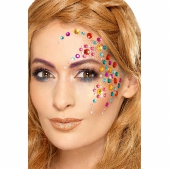 Set 100 joyas adhesivas para la cara