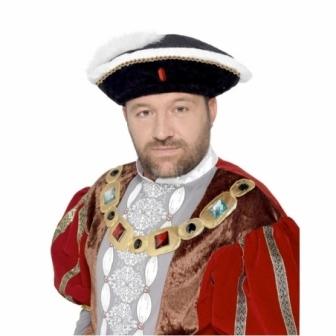 Sombrero Enrique VIII adulto