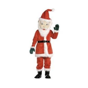 Mascota Papá Noel