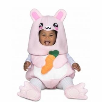Disfraz Conejito rosa baloon bebe