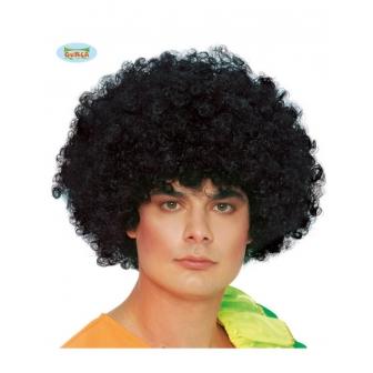 Peluca Rizos gigante negra Afro