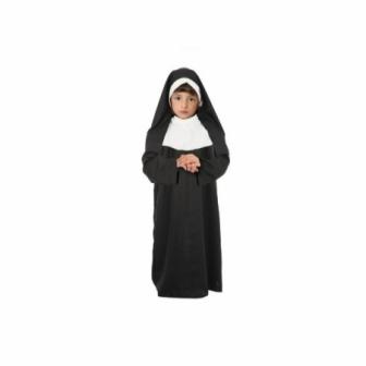 Disfraz Monja para niña